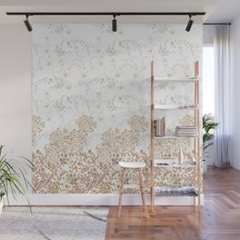 Indian Floral for Christmas Wall Mural