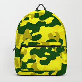 Camouflage (Yellow) Backpack