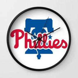 Phillies Wall Clock
