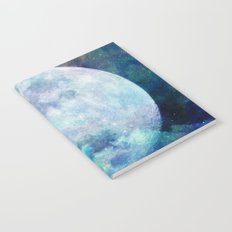 Moon + Stars Notebook