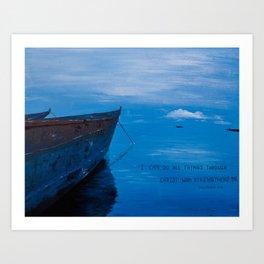 African Waters II Art Print