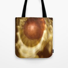 Abstract light reflections Tote Bag