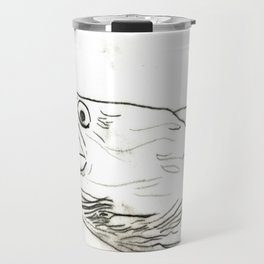 Fish Face 3 Travel Mug