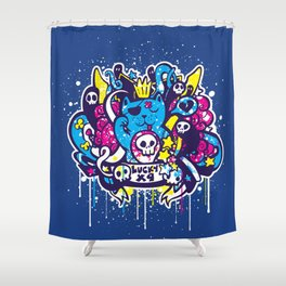 Unlucky Kitty Shower Curtain