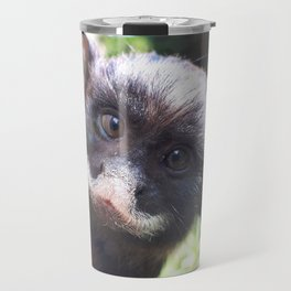 White-lipped tamarin monkey Travel Mug