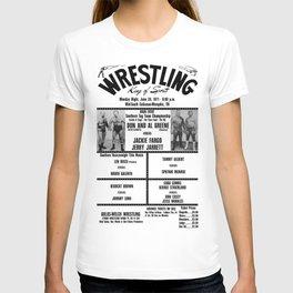 #14 Memphis Wrestling Window Card T-shirt