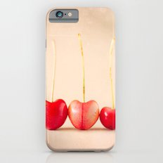 Cherry Heart Goodness Slim Case iPhone 6s