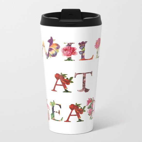 Wild At Heart Metal Travel Mug