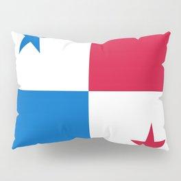 flag of panama-Panama,Panamanian,canal,spanish,San Miguelito,Tocumen,latine,central america,panameno Pillow Sham