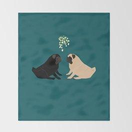 Christmas Couple Throw Blanket