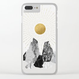Rock Formation No.2 Clear iPhone Case