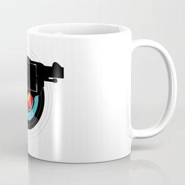 Hand Gun Target Coffee Mug