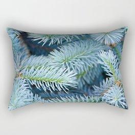 Fir branches background Rectangular Pillow