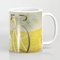 tour de france Mugs featuring Le Tour by bomobob