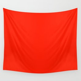 Bright Red Fiesta Fashion Color Trends Spring Summer 2019 Wall Tapestry