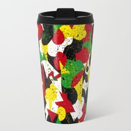 Abstract, Indiana 1976 Travel Mug