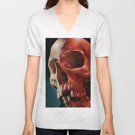 Skull 9 Unisex V-Neck