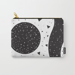 abstraction black moon Carry-All Pouch