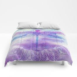 Mandala Dragonfly Comforters