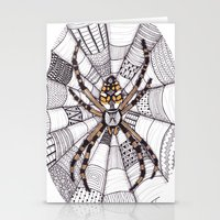 spider Stationery Cards featuring Spider by Laura Maxwell