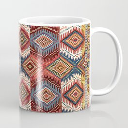 Kurdish Van-Hakkari East Anatolian Kilim Print  Coffee Mug