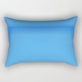 Blue Empty Room Rectangular Pillow