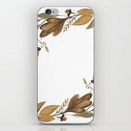Acorn Foliage iPhone Skin