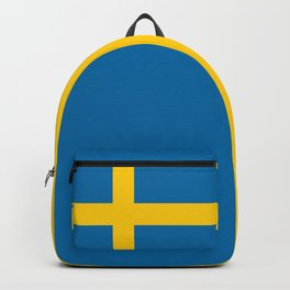 Flag of Sweden - Authentic (High Quality Image) Backpack