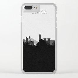 City Skylines: Valencia Clear iPhone Case