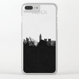 City Skylines: Valencia Clear iPhone Case
