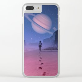 Glimpse of a Dream Clear iPhone Case