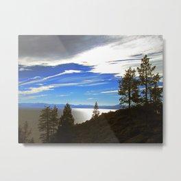 Shadowy North Lake Tahoe Metal Print