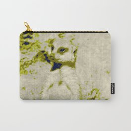 Pop Art Meerkat 1 Carry-All Pouch