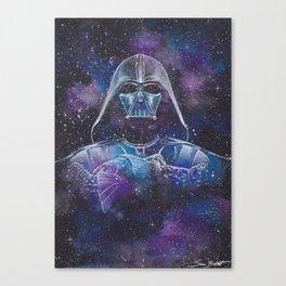 Darth Vader Galaxy Canvas Print