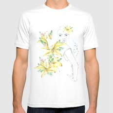 in spring Mens Fitted Tee White MEDIUM