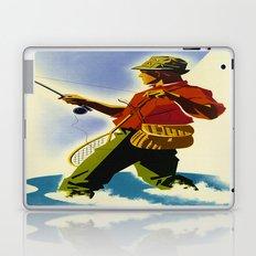 Colorado Fly Fishing Travel Laptop & iPad Skin