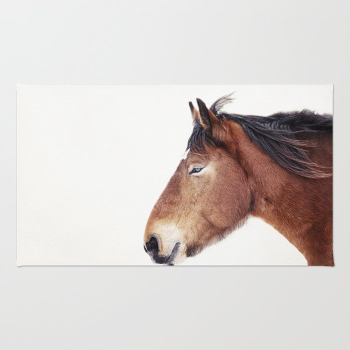 Horse Portrait Rug