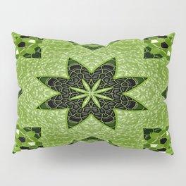 Bubblin' in Green.... Pillow Sham