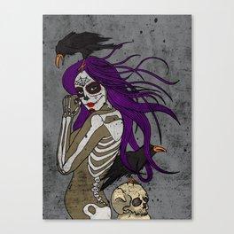 Lady Bones 1 Canvas Print