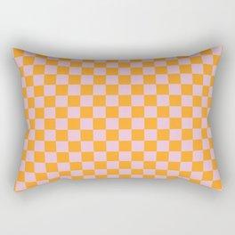 Tangerine Fizz Rectangular Pillow