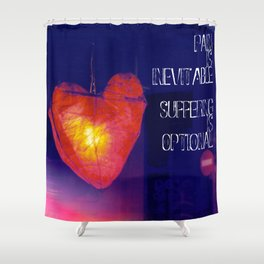 H. Murakami quote -1 Shower Curtain