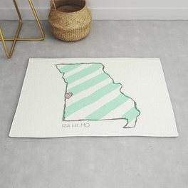 Home Is Where The Heart Is: Rich Hill, Missouri Rug