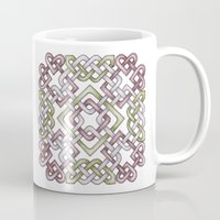 celtic Mugs featuring Celtic Knotwork by Carrie at Dendryad Art