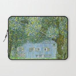 Klimt - Farmhouse in Upper Austria (new editing) Laptop Sleeve