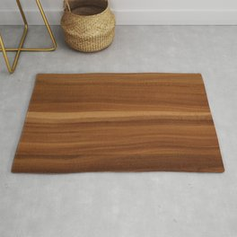 Wooden decor furniture patter Rug