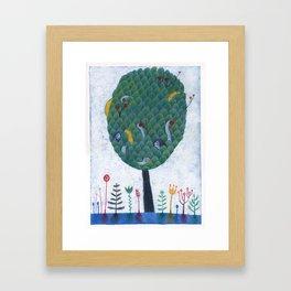 Adan y Eva Framed Art Print