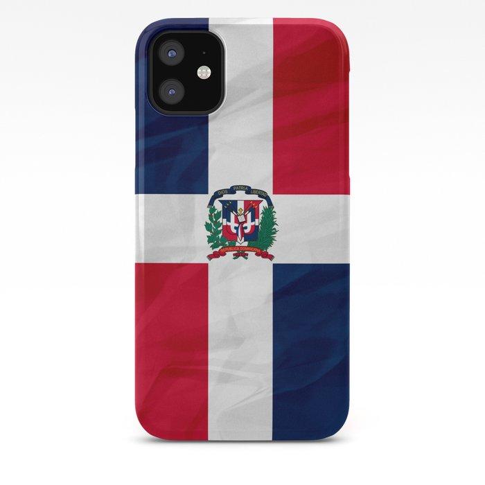 Dominican Republic Flag iphone case