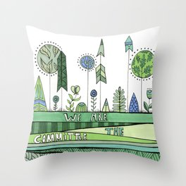 Committee Throw Pillow