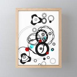 Mechanical Effort Framed Mini Art Print