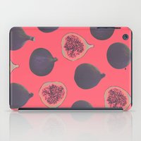 fig iPad Cases featuring Fig pattern by Georgiana Paraschiv